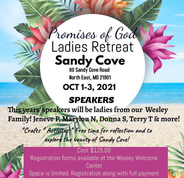 Women of Wesley Annual Retreat